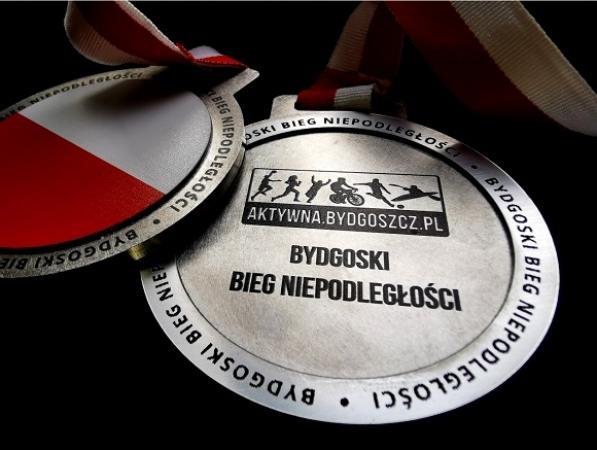Poznajmy bliżej medale tegorocznego Biegu Niepodległości.