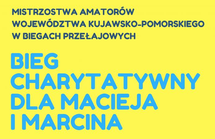 Weź udział i pomóż! Bieg Charytatywny dla Macieja i Marcina