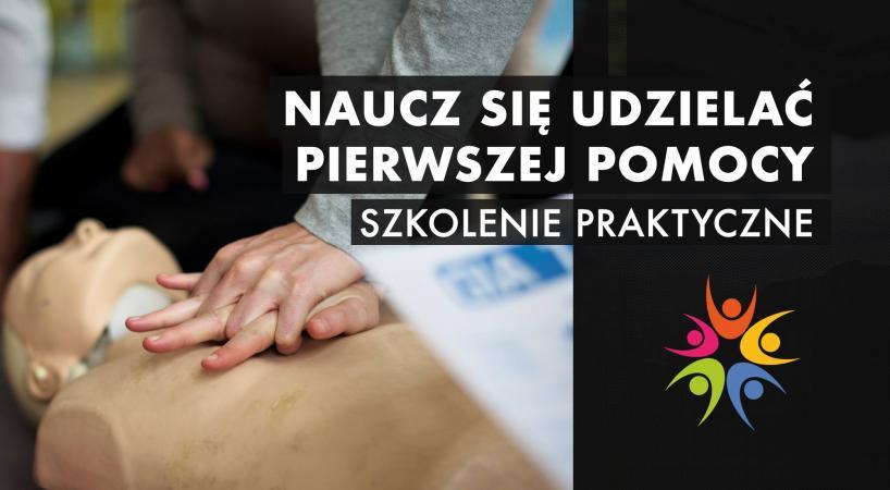 Zaproszenie na bezpłatne szkolenie z pierwszej pomocy nie tylko dla wolontariuszy!