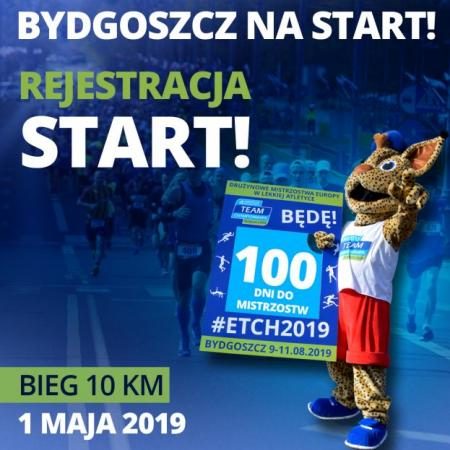 Trwa rejestracja do biegu Bydgoszcz na Start