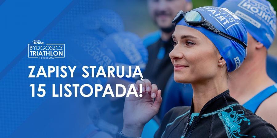 Nowy dystans tylko dla debiutantów na największej imprezie triathlonowej w Polsce!