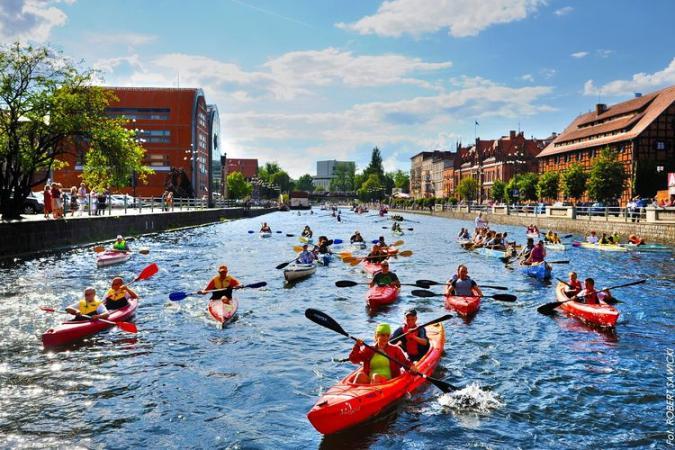 Mamy rekord Guinnessa – największa parada kajaków była w Bydgoszczy